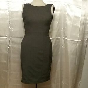 HM grey midi dress size 4